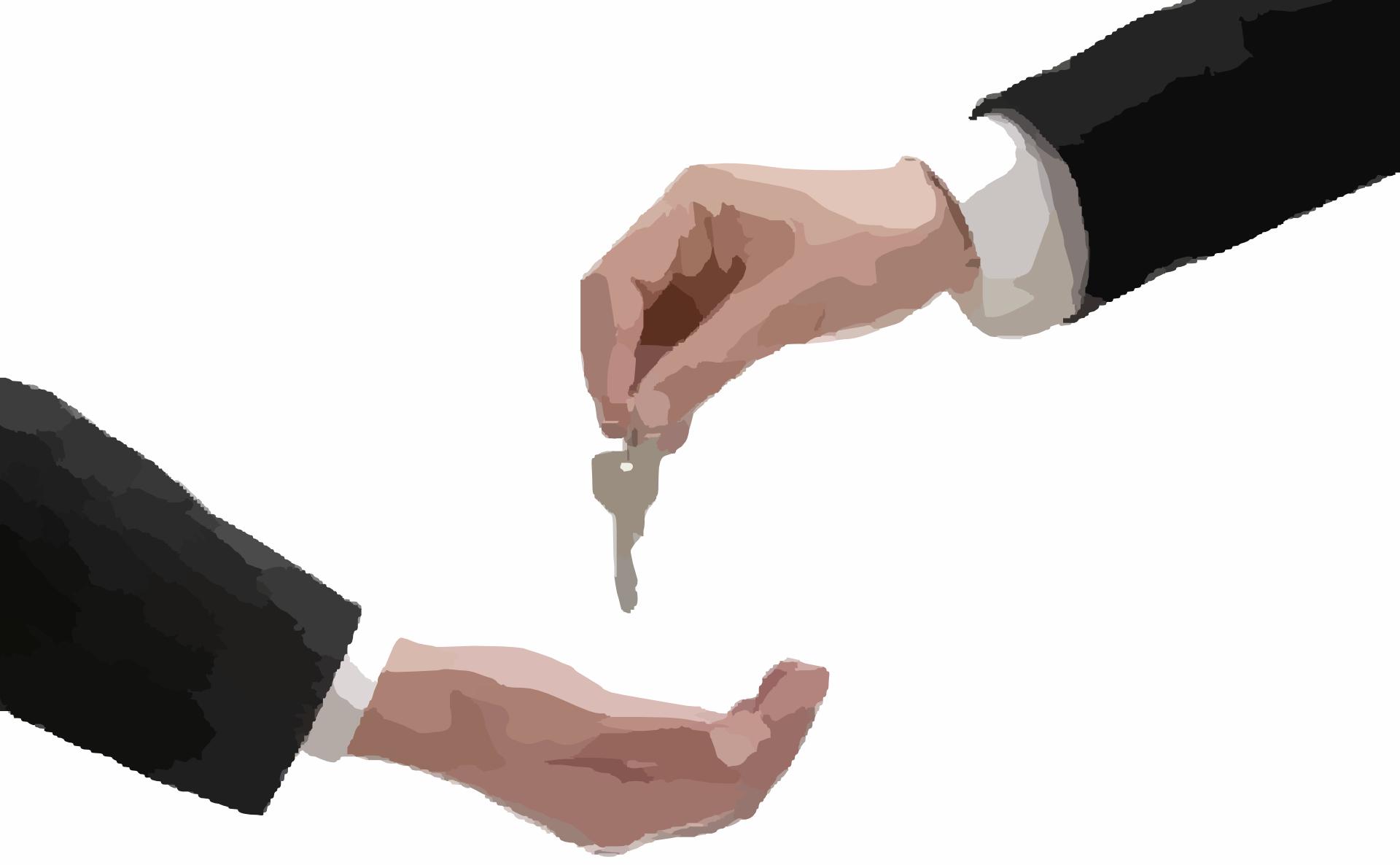 Vermietete Immobilie