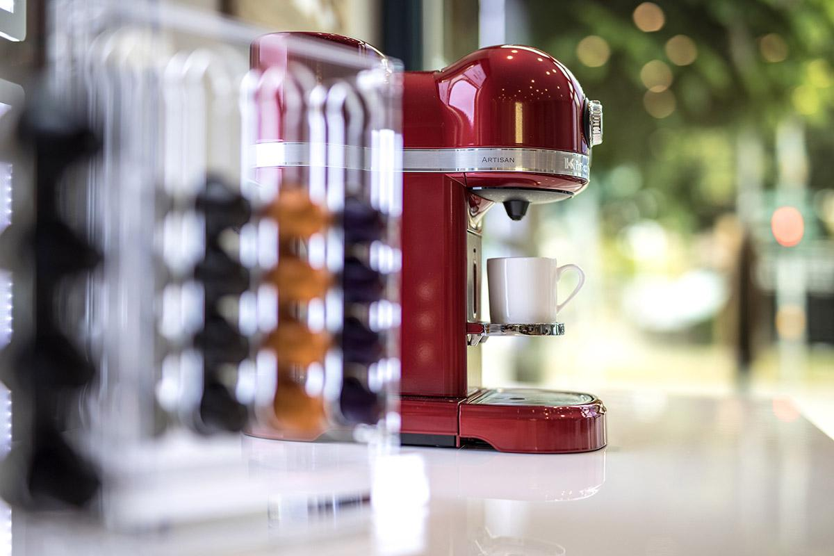 baufinovo Büro Kaffeemaschine