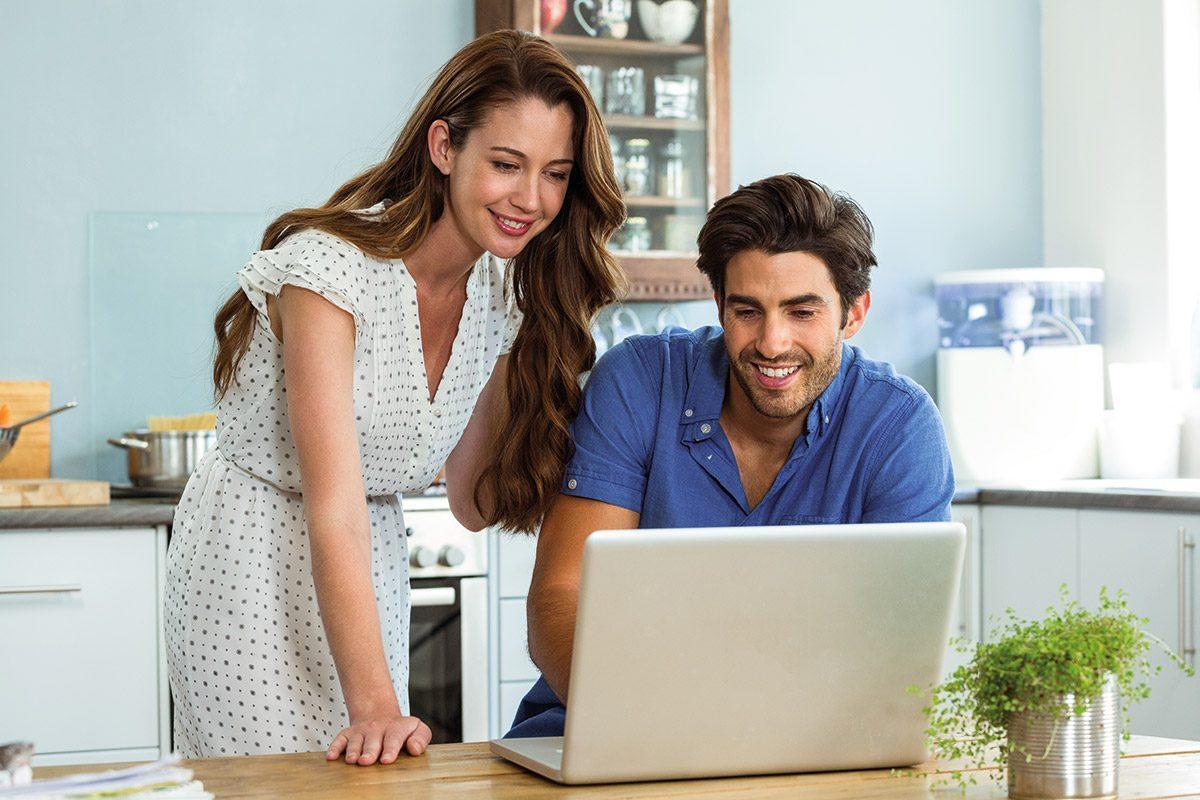 Baufinanzierung Online-Beratung